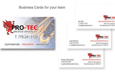 custom business cards design and print vancouver